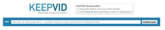 keepvid download