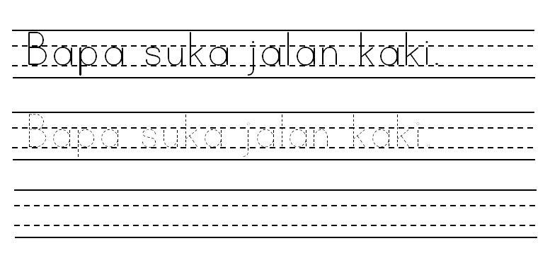 Install Dotted Font Font Titik Titik Weblog Prasekolah Budiman Sk Tekek Pulau Tioman